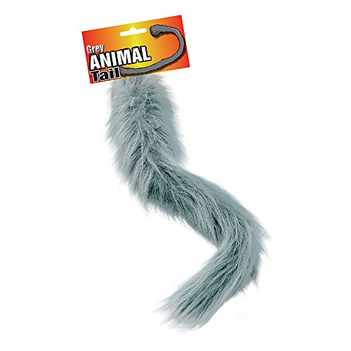 NEW Grey Animal Tail Cat Dog Fancy Dress -