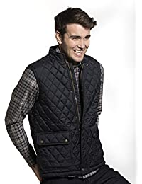 Vedoneire Men's Quilted Gilet (3032) Navy