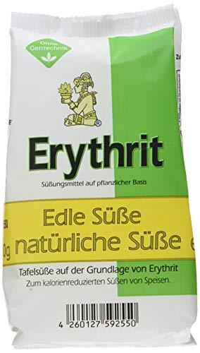 Natürliche Granulat (EUROVERA Erythrit Granulat, natürliches Süßungsmittel, 6er Pack (6 x 500 g))