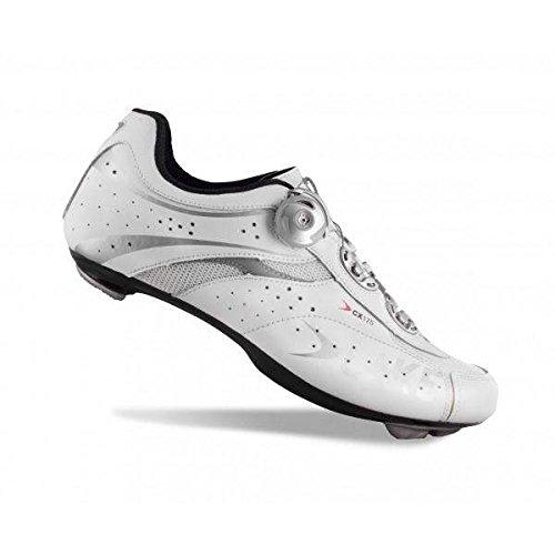 Zapatillas para bicicleta de carretera Lake CX175 blanco para hombre Talla 42 2014