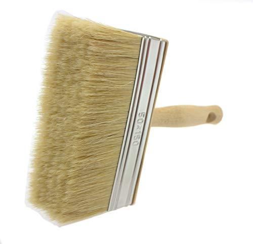 Tapezierbürste, natürlicher Malerpinsel, Malerbürste, Zaunpinsel, Natural Bristle Hair, 50x150