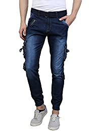 Zacharias Boy's Denim Multi Pocket Jean/Jogger