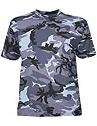 TEE SHIRT CAMOUFLAGE ARMEE PAINTBALL AIRSOFT CHASSE FASHION