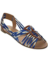 Chocolate Schubar - Sandalias de vestir para mujer azul azul
