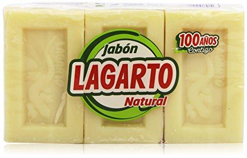 Lagarto - Jabón Natural - 250 g - 3 unidades
