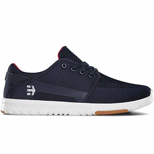 Etnies Herren Sneaker SCOUT YB - NAVY/WHITE/RED Navy White Red