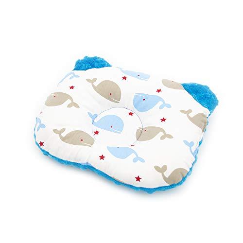 Oreiller orthopédique pour bébé contre la tête plate, développé avec des médecins - Coussin de positionnement pour nourrissons - Oreiller anti-déformation de la tête - Oreiller pour bébé