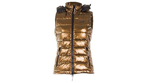 iFLOW Damen Gold Vest-Limited Series Women Weste Nugget Gold - Pure schwarz