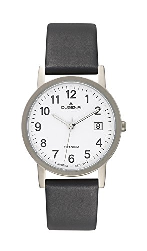 Dugena Classic Gents Watch Quartz Watch With Leather Strap  4460326