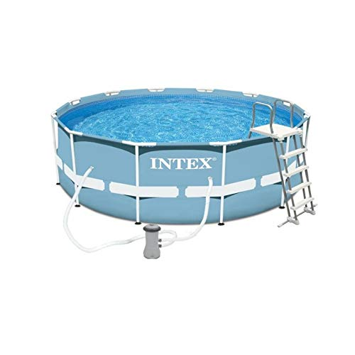 Intex - Piscine tubulaire Intex ronde 3,66 x 1,22 m