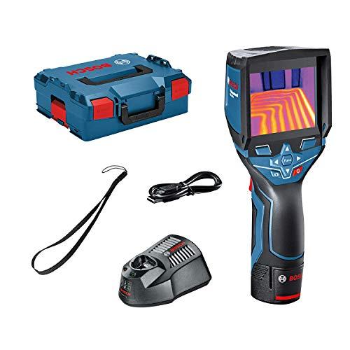 Bosch Professional Caméra Thermique Connectée GTC 400 C (1 batterie Lithium-ion, 12 V, plage de...