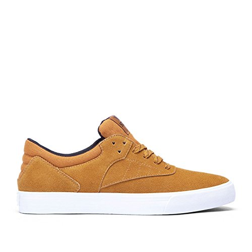SUPRA Skateboard Shoes PHOENIX CATHAY SPICE-WHITE Sz 13