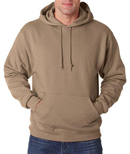 Wei§er Fu§ball auf American Apparel Fine Jersey Shirt Safarifarben