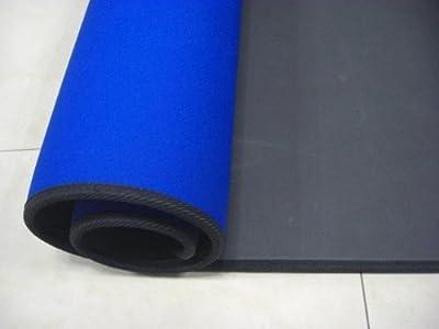 Aerobic-Set: Pilates Mat Yoga Mat Neopren + von 2kg Hanteln gesetzt