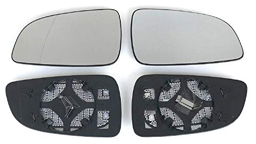 Spiegel Spiegelglas rechts und Links beheizbar für Außenspiegel elektrisch und manuell verstellbar geeignet, Achtung: Unbedingt die Baujahrbeschränkung unten beachten