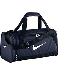 Nike Brasilia 6 Duffel - Bolsa de deporte para hombre, color azul, talla XS