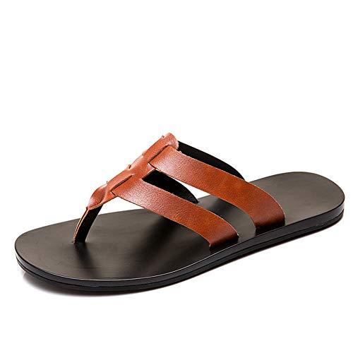 XSY2 Die Wasserdichten Pantoffel-Strand-Schuh-Sandalen der Männer, offene Zehen-gehende Sandalen-Fischer-Sommer-gehende Schuh-Flache Sandalen-athletische Schuhe,a,44 -