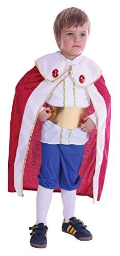 ce Charming König Weihnachtskostüm Outfit 2-3 J - Multi, Multi, 2-3 Years (Prince Charming-outfits)