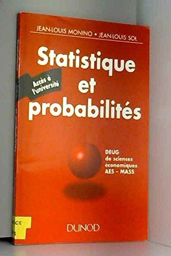 STATISTIQUES ET PROBABILITES. Accès à l'université
