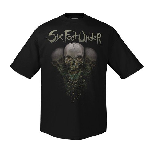Six Feet Under Maggots 1940 T-shirt da uomo