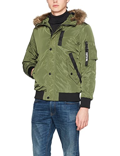 JACK & JONES Jcocarter Jacket, Chaqueta para Hombre, Verde (Rifle Green Fit:One), Medium