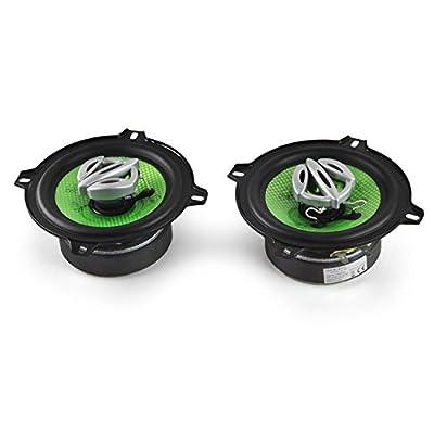 Treefrog TF-542 Paar Auto-Lautsprecher 400W froschgrün von Treefrog bei Reifen Onlineshop