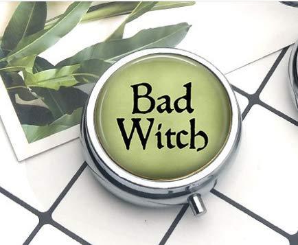 Böse Hexe, Hexenschmuck, Hexenkostüm, Pillendose -