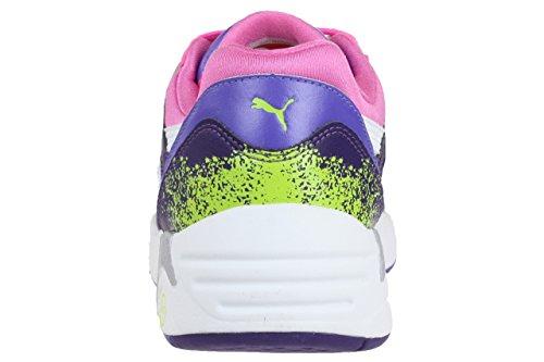 Puma Trinomic R698 sport Sneaker women Trainers 357331 01 white (pink / lila / weiß)