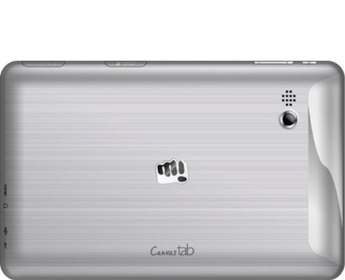 Micromax Canvas P650E Tablet (4GB, 7 Inches, WI-FI) Silver, 512MB RAM Price in India