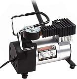 4tens 12v Single Cylinder High Pressure Heavy Duty Air Compressor 150 PSI Metal Car Tyre Inflator Air Compressor Pump…