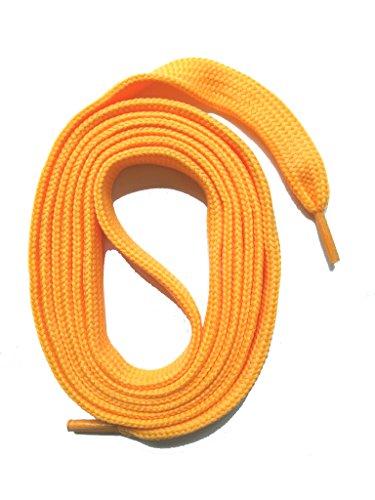 Snors lacci colorati piatti di spessore stringhe colorate - albicocca 145cm 57.1