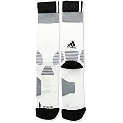 adidas ID Light Calcetines, Hombre, Blanco / Negro / Gris, 43-45