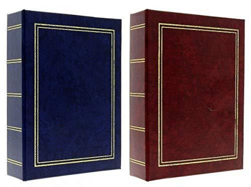 Juego de 2 álbumes de fotos en bolsas MÁRMOL 200 fotos 10x15 cm por álbum, cubierta de papel impresa - 2 vistas por página, dimensiones: 17x22.5 cm - 400 fotos para archivar con este paquete