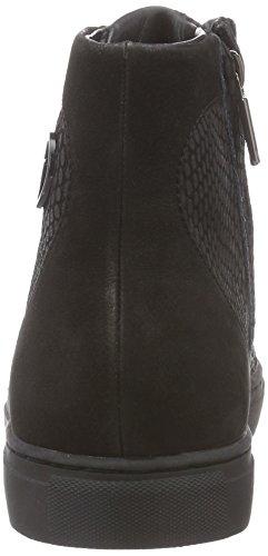 Black Hohe Schwarz B55g563 nero Damen Jeans Sneakers Armani 0tSqAxx