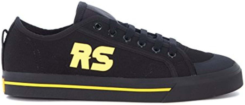 adidas Sneakers x RAF Simons Spirit in Schwarzem Canvas