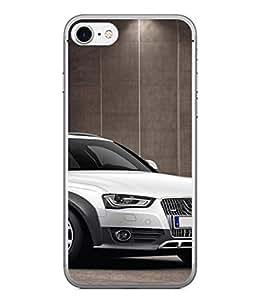 PrintVisa Designer Back Case Cover for Apple iPhone 6 (white front display suv car)