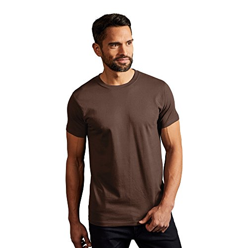Premium T-Shirt Herren, XL, Braun