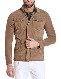Amazon.it  camoscio giacca - Giacche e cappotti   Uomo  Abbigliamento ac06e30d050