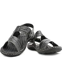 Lee Cooper Men Black Sports Sandals-9 Uk
