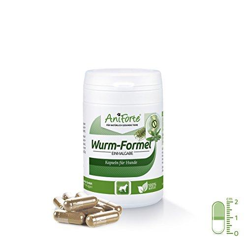 Artikelbild: AniForte Wurm-Formel 50 Kapseln für Hunde, Erlesene Kräutermischung statt chemischer Kur