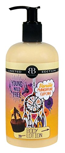 Bettina Barty Bohemian Vanilla Mandarine Cupcake Hand & Body Lotion, 1er Pack (1 x 500 ml) - Vanille Cupcake Körper