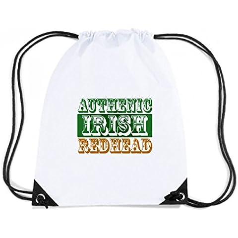 Cotton Island - Mochila Budget Gymsac TIR0005 authentic irish redhead light tshirt