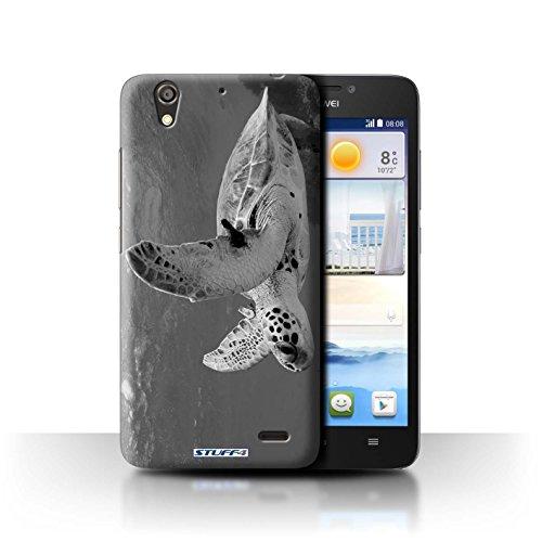 Stuff4® Hülle/Hülle für Huawei Ascend G630 / Schildkröte Muster/Zoo-Tiere Kollektion