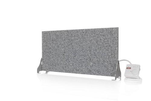 Magma Infrarotheizung 400Watt (Granit grau-weiß) Stand-Variante mit Steckdosenregler