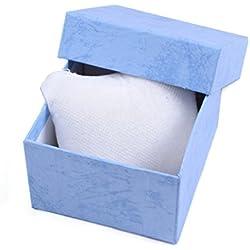 Tonsee Dauerhaften Geschenk Box vorliegend für Armband Armreif Schmuck Uhren Box,blau