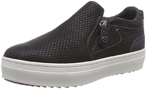 Wrangler Sheena Slip On 3D, Low-Top Sneaker donna, Nero (Schwarz (62 Black)), 37