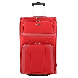 Travelite Orlando 2 - Rollen - Trolley 73 Cm, Rot, rot