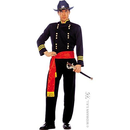 23755/M–Kostüm-Allgemeinen nordiste–Größe M (Bürgerkrieg Uniform Kostüm)