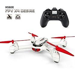 Hubsan H502E X4 Desire CAM Drone GPS 720P HD Camara Retorno a Origen Mantner Altitud Cuadricoptero (H502E)