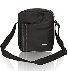 Cosmus Stitchwell 6 Litres Black Sling Bag